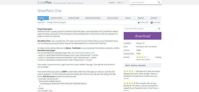 sharepoint-chat
