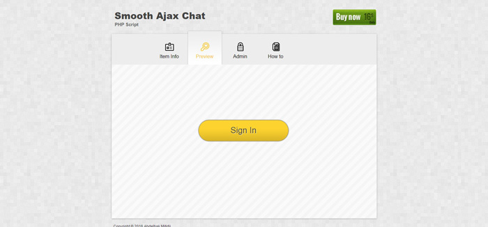 smooth ajax chat