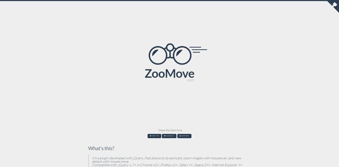 ZooMove   jQuery Zoom Image