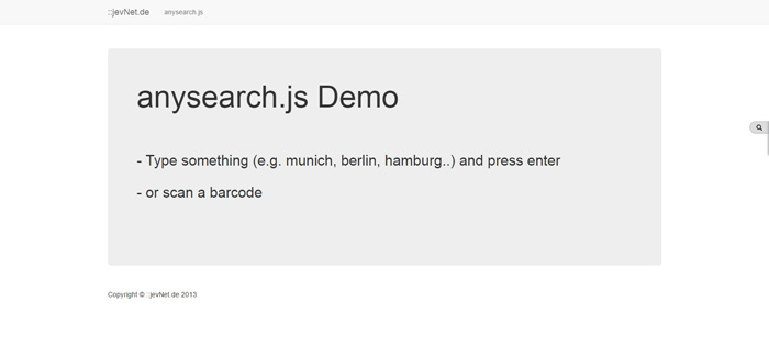 anysearch.js Demo