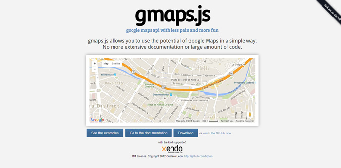 30 Best jQuery Map Plugins for Your Next Project - GojQuery