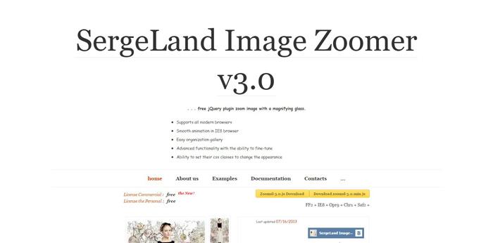 sergeland image zoomer