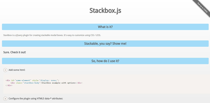 stackbox