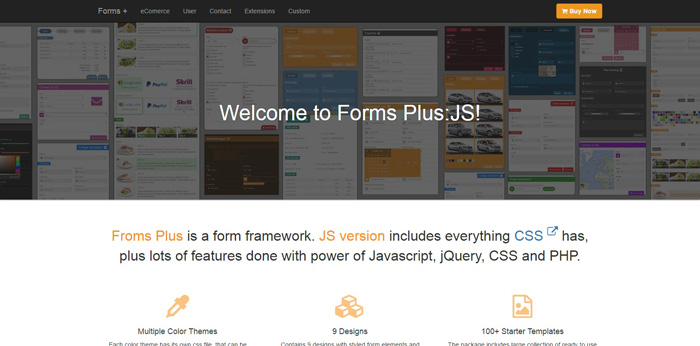 Forms Plus JS