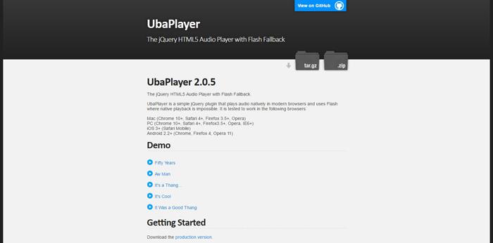 UbaPlayer