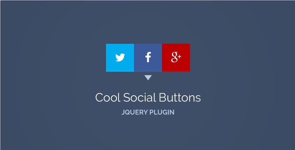 cool social button