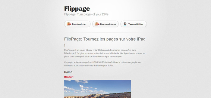 flip page