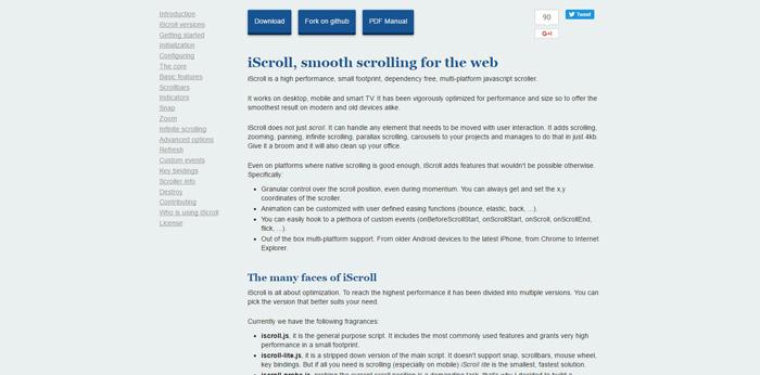 iscroll