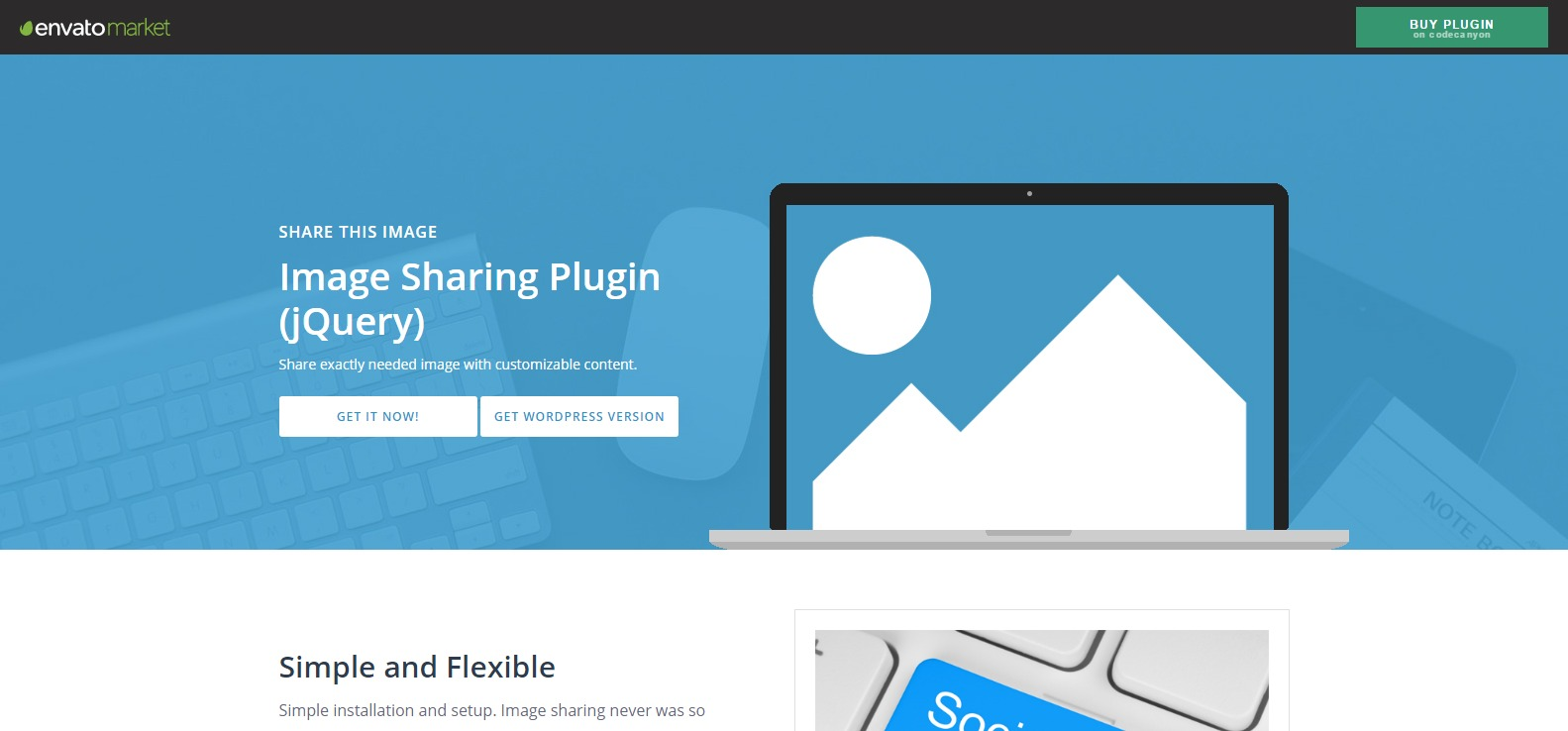 jQuery Image Sharing Plugin