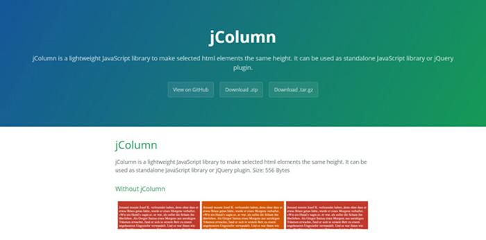 jcolumn