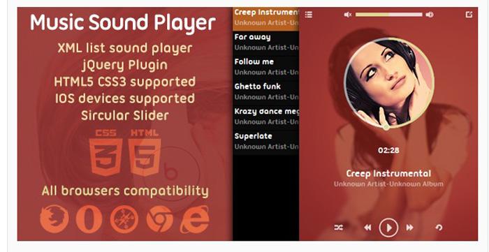 music sound player