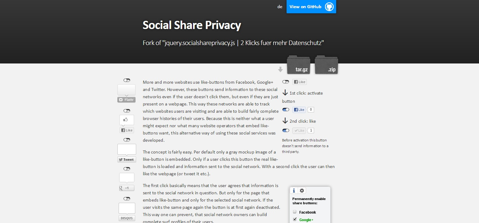 21 jQuery Social Share plugins for Sharing Your Content