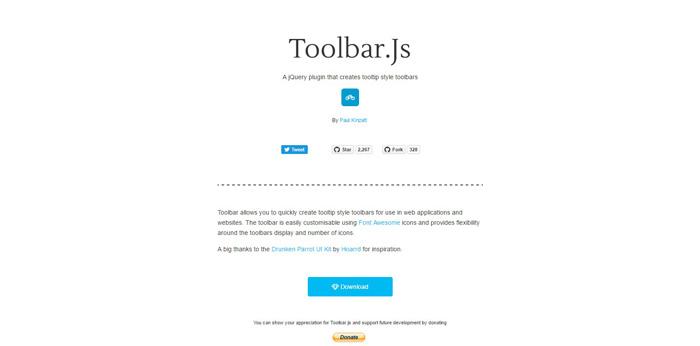 toolbarjs