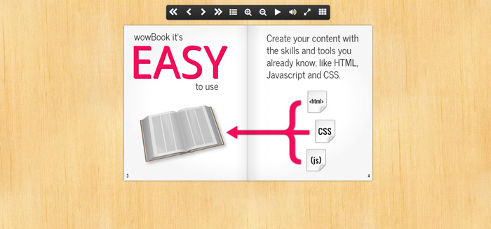 13 jQuery Plugins for Creating Flipbook Effects - GojQuery