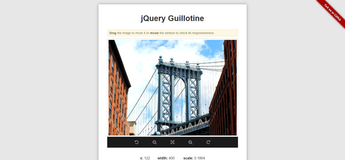 jQuery Guillotine