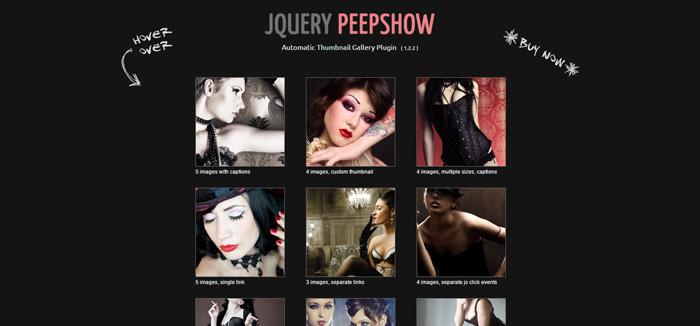 jquery peepshow