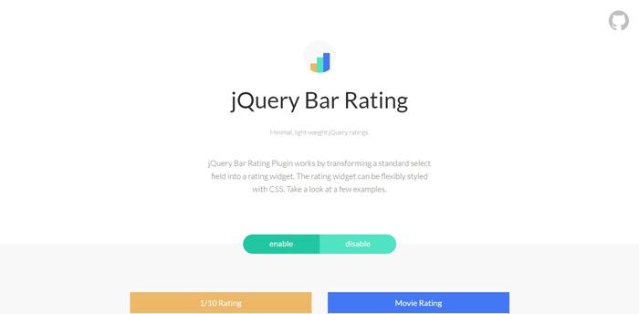 jquery-bar-rating