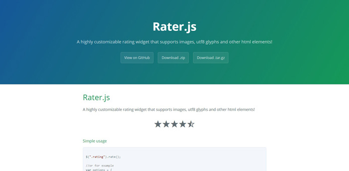 raterjs