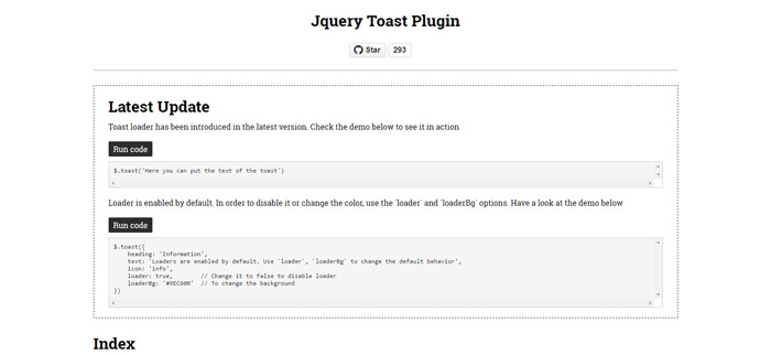 jquery-toast-plugin