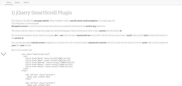 jquery-smartscroll-plugin