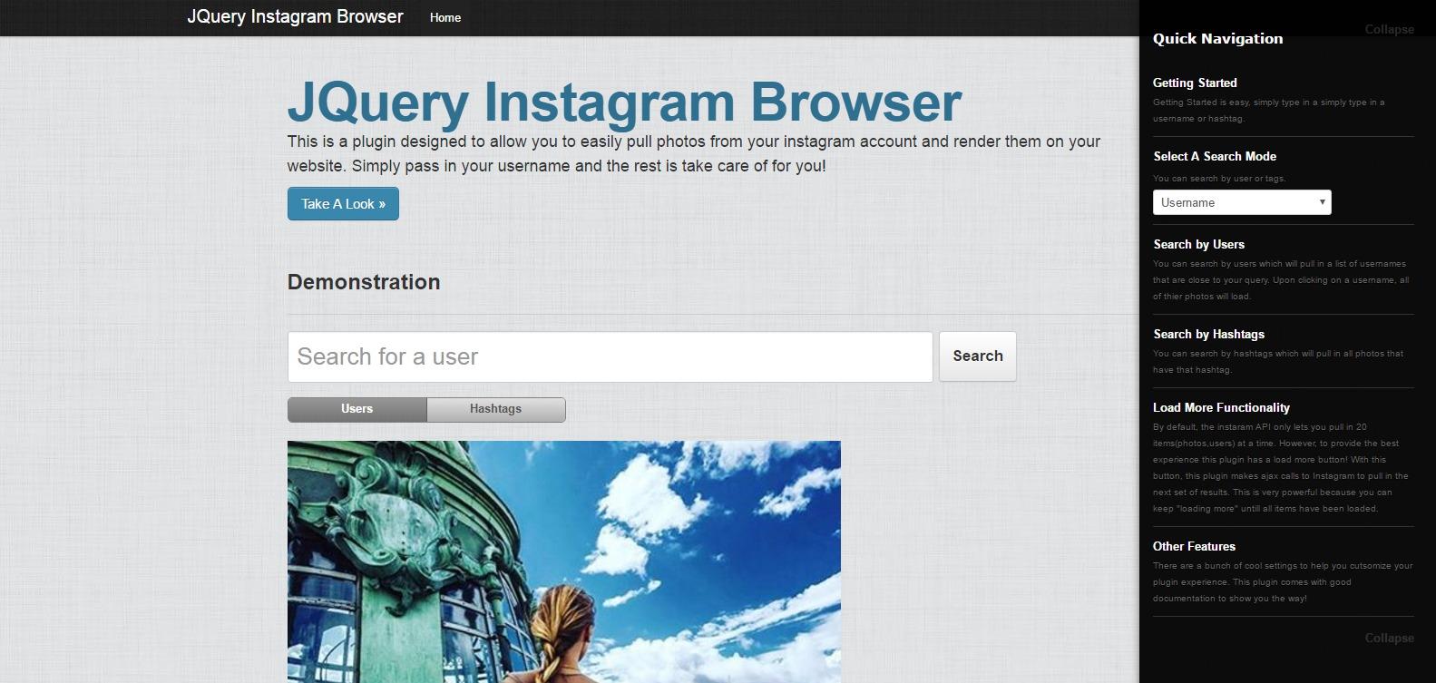 jquery-instagram-browser