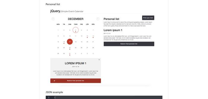 13 Best jQuery Calendar Plugins - GojQuery