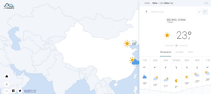 12 jQuery Weather Plugins - GojQuery