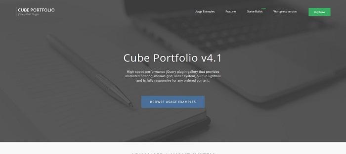 jQuery Portfolio Plugins to Showcase Your Work - GojQuery