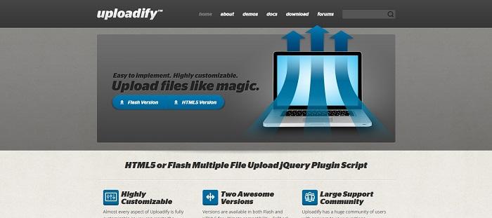 7 Best jQuery Ajax File Uploader Plugins - GojQuery