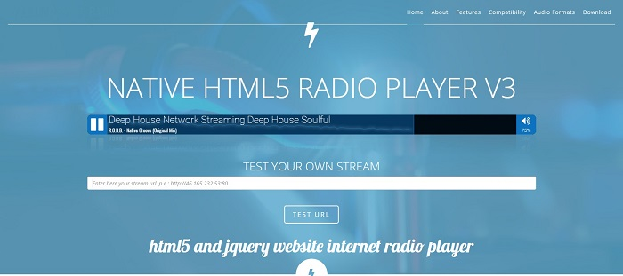 Javascript Audio Player